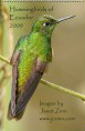 Hummingbirds of Ecuador Calendar